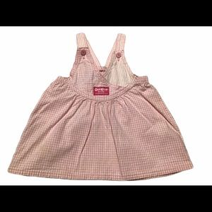 oshkosh overalls  dress girls 12 mos.